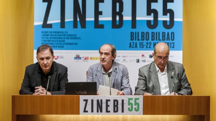 Presentación de la edición de 2013 del Festival de Cortometrajes y Cine Documental de Bilbao. /EDN.