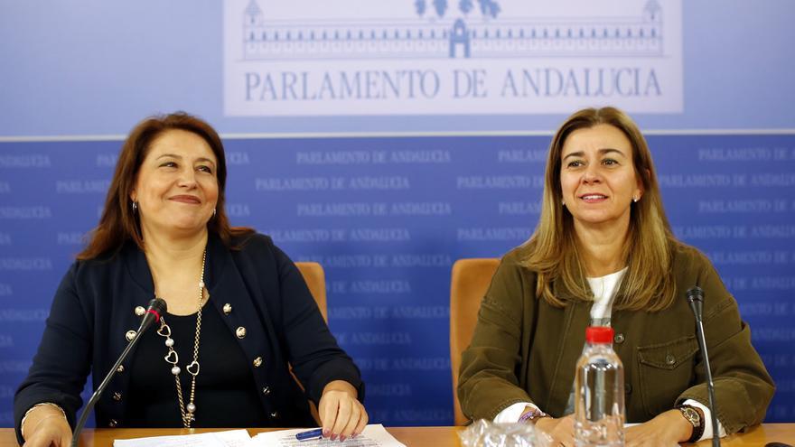 Carmen Crespo y Teresa Ruiz Sillero.