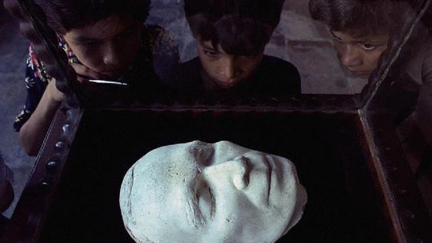 Máscara de Rubén Darío