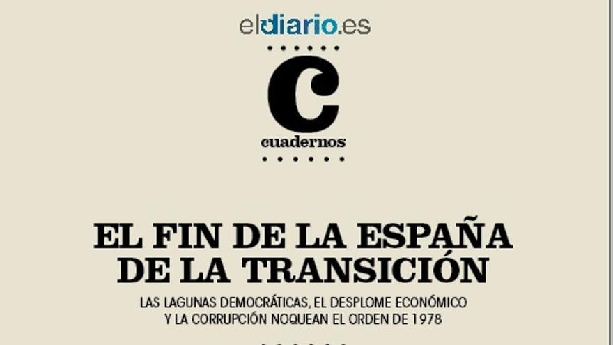 Portada del número 1 de la revista Cuadernos, de eldiario.es.