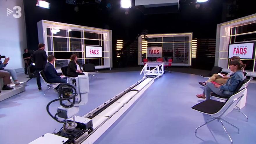 PP, PSOE y C's se ausentan de la tertulia política de TV3