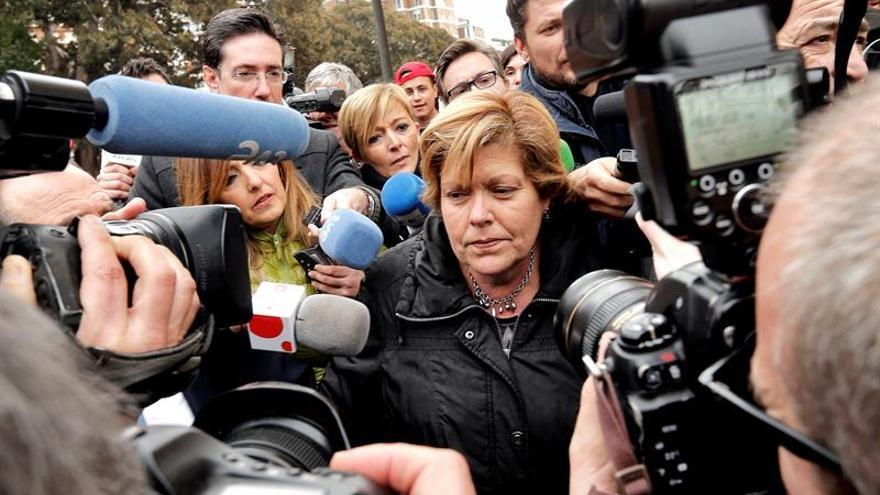 La exconsellera Martínez evita ir al TSJCV para decir dónde cumplirá su pena