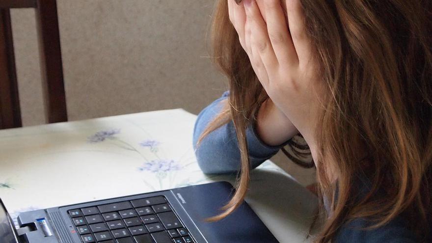 El ciberbullying es una lacra muy extendida por la red.