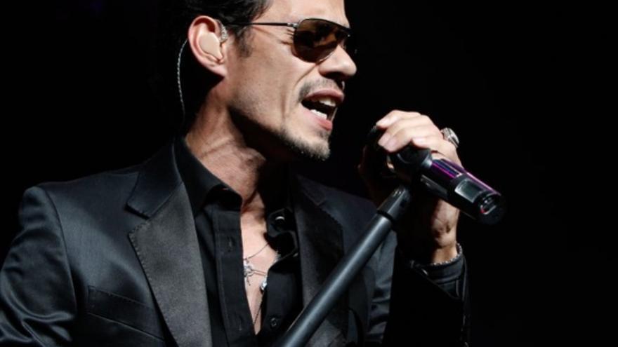 El cantanta neoyorquino Marc Anthony.
