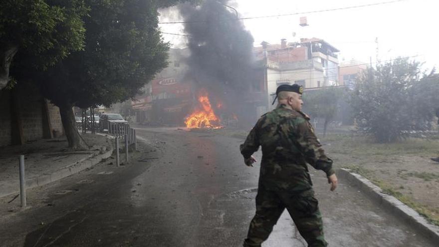 Mueren dos palestinos tiroteados en un campo de refugiados en el sur del Líbano