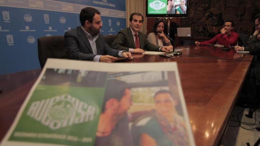 Presentación esta mañana del plan estratégico de Aucorsa en el Ayuntamiento   RAFAEL MELLADO