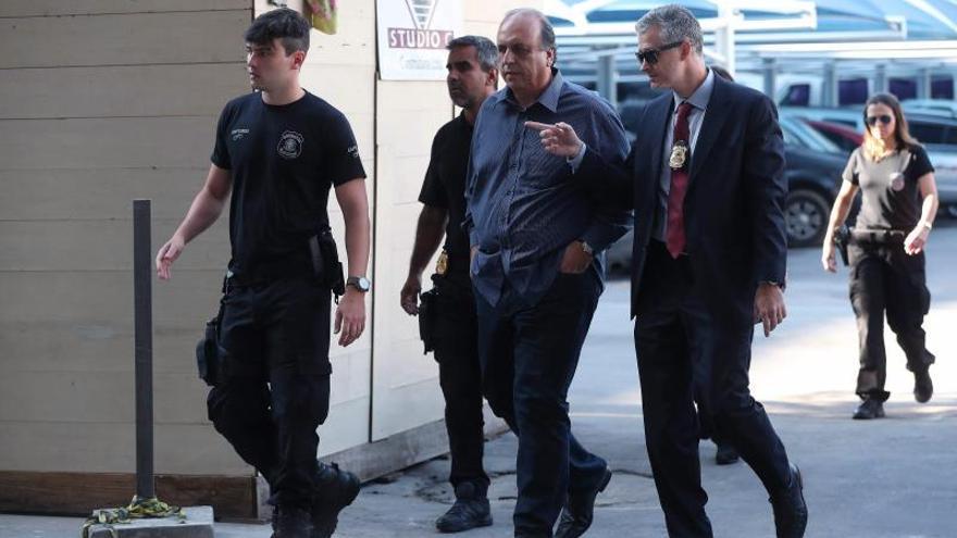 Image result for Arrestan al gobernador de Río de Janeiro en el marco de Operación Lava Jato