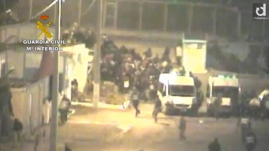 Vídeo de la Guardia Civil sobre los inmigrantes en Ceuta