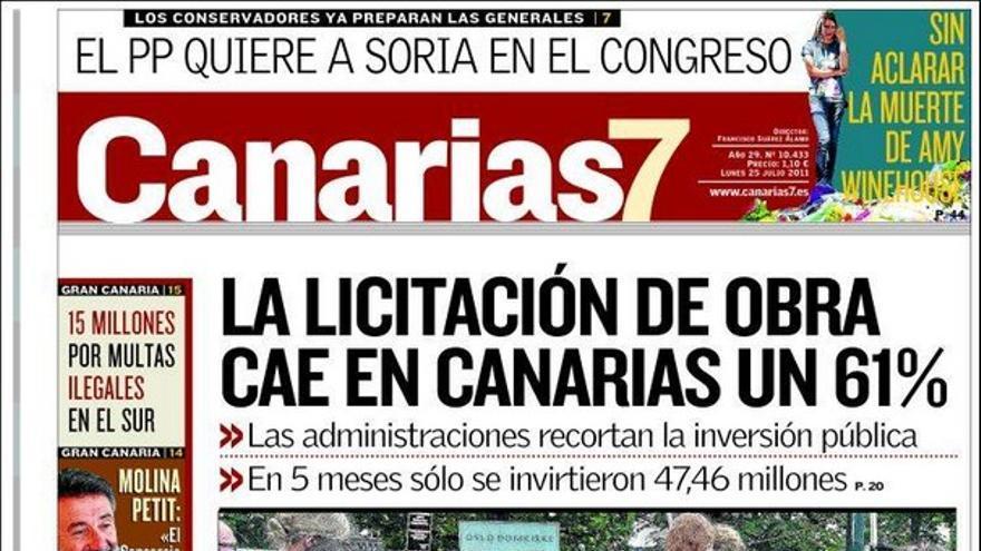 De las portadas del día (25/07/2011) #2