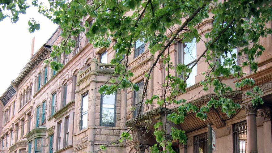 Barrio de Harlem, en Nueva York