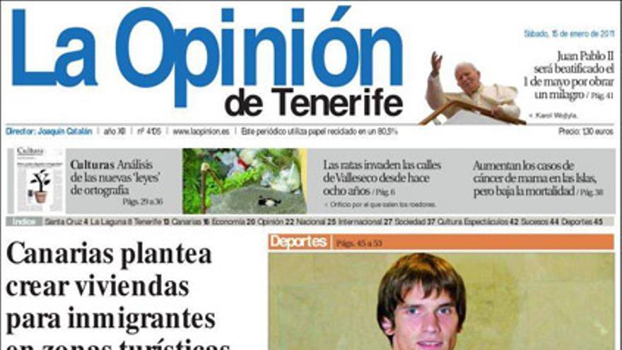 De las portadas del día (15/01/2010) #11