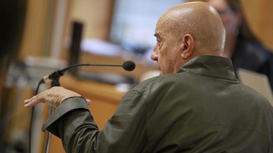 El arquitecto José Ángel Domínguez declarando en el juicio del caso Las Teresitas