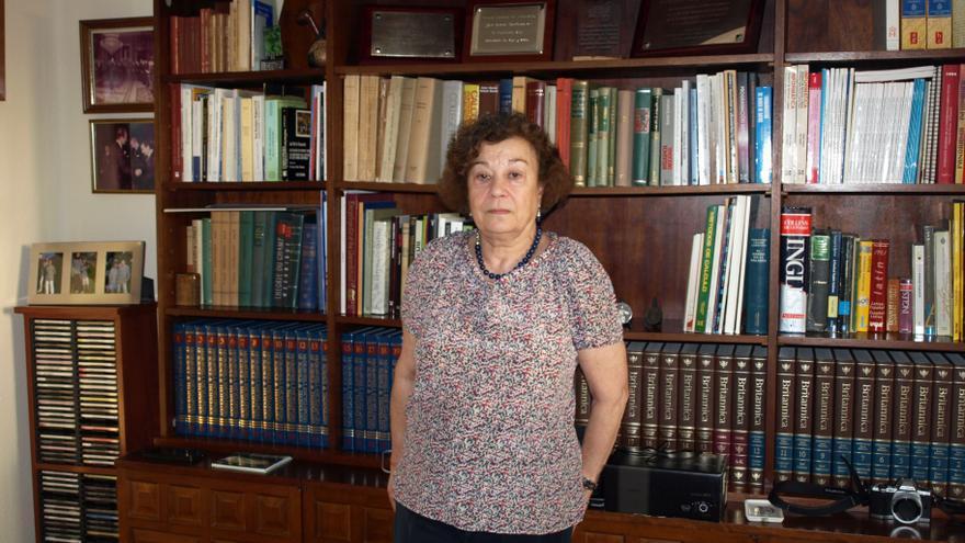 La investigadora Teresa de Pedro ha sido investigadora del CSIC durante más de cuatro décadas