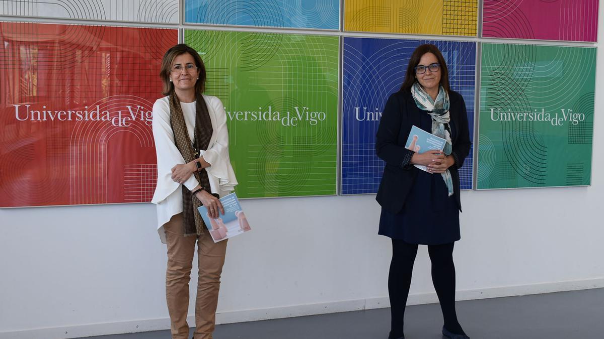 Las autoras del estudio, las profesoras Gloria Caballero y María Jesús López-Miguens