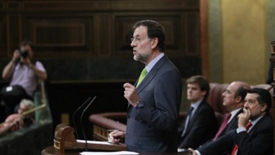 Mariano Rajoy, Presidente Del PP, En El Congreso De Los Diputados