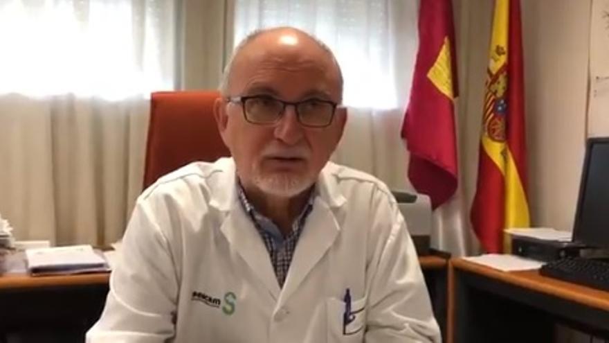 El gerente del Área Sanitaria de Cuenca, Ángel Pérez Sola