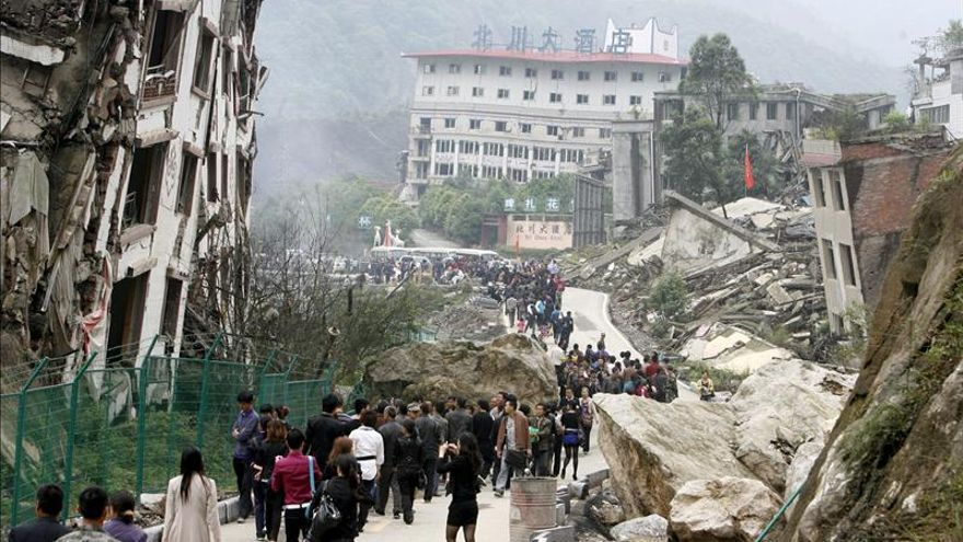 Resultado de imagen para terremoto en china hoy