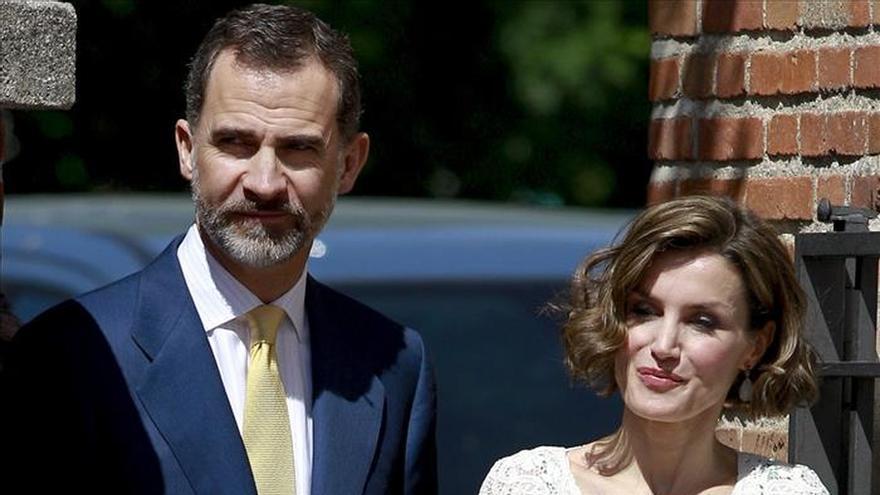 La Familia Real al completo reaparece en público para la comunión de Leonor