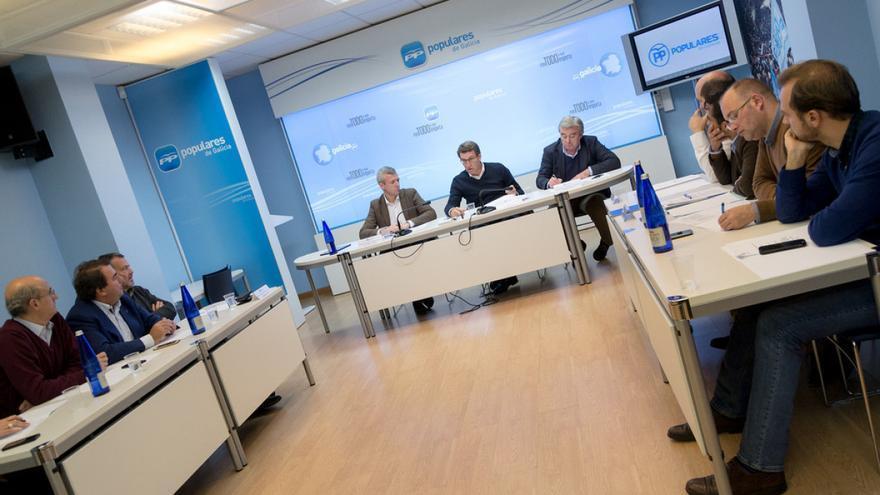 Reunión de la dirección del PPdeG