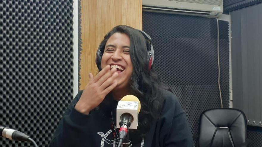Alex Vásquez, miembro de la Red de Sanadoras Ancestrales del Feminismo Comunitario Territorial de Guatemala