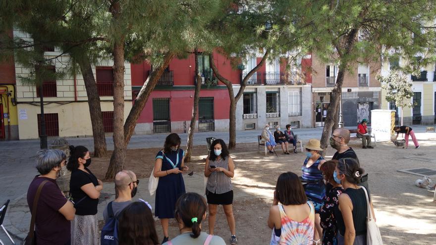 Un taller para buscar y pasear la memoria colectiva del barrio de Malasaña