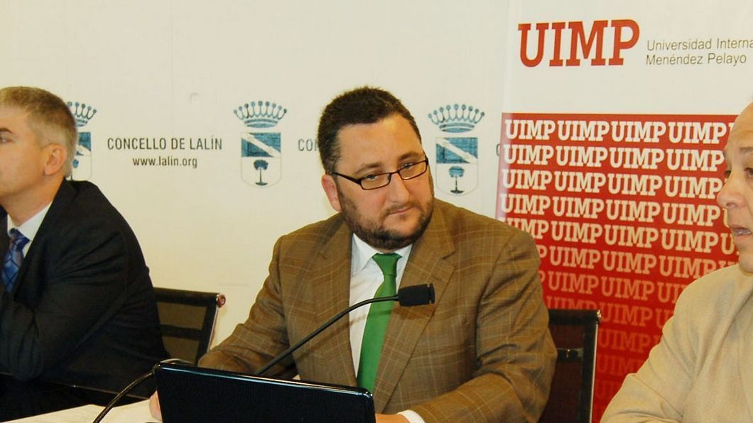 Norberto Uzal, en una imagen de cuando era director xeral de Administración Local