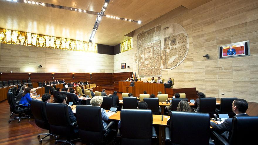 Hemiciclo de la Asamblea de Extremadura / GobEx