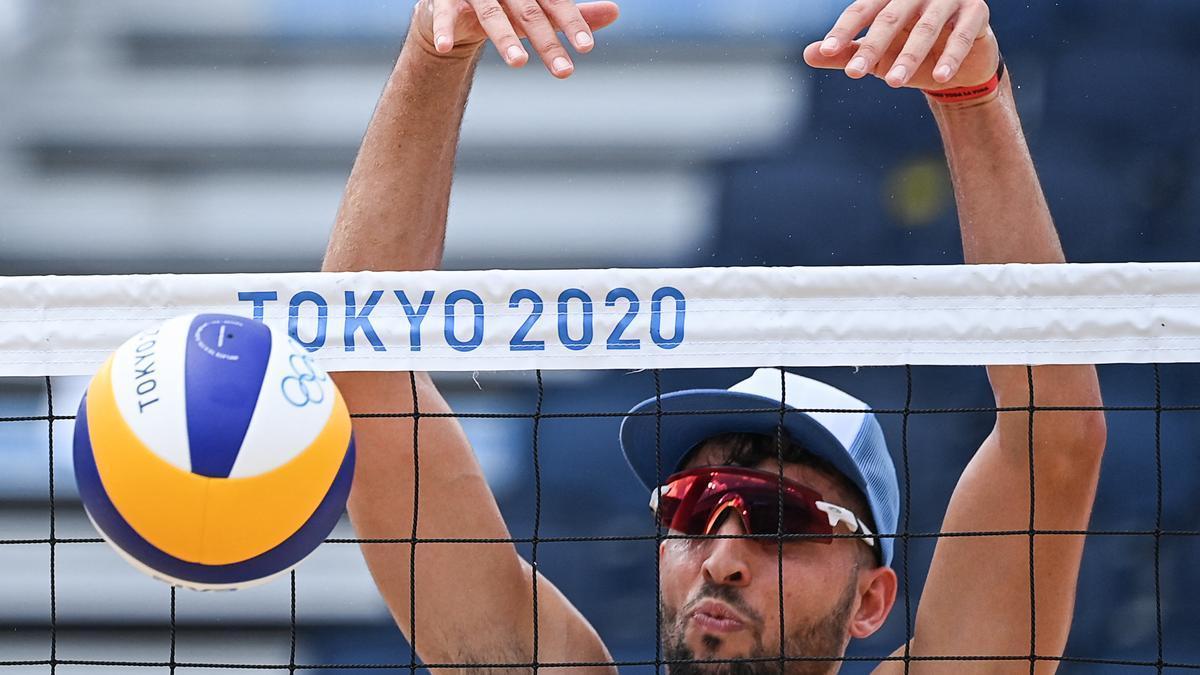 El rosarino Capogrosso (en la foto) y el entrerriano Azaad quedaron eliminados en su primera participación en un Juego Olímpico.