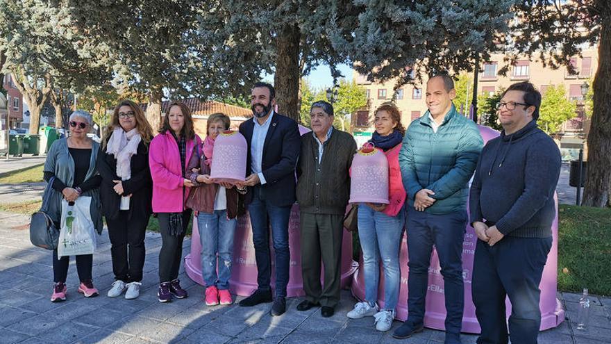 Seis ciudades de Castilla-La Mancha se suman a la campaña 'Recicla vidrio por ellas'