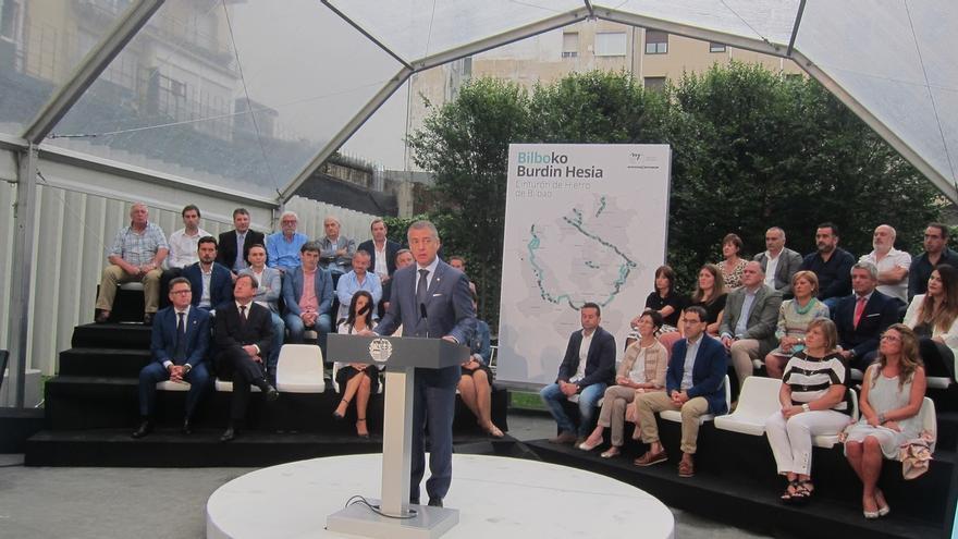 Un proyecto interinstitucional convertirá el 'cinturón de hierro' de Bilbao en itinerario de la Memoria de Euskadi