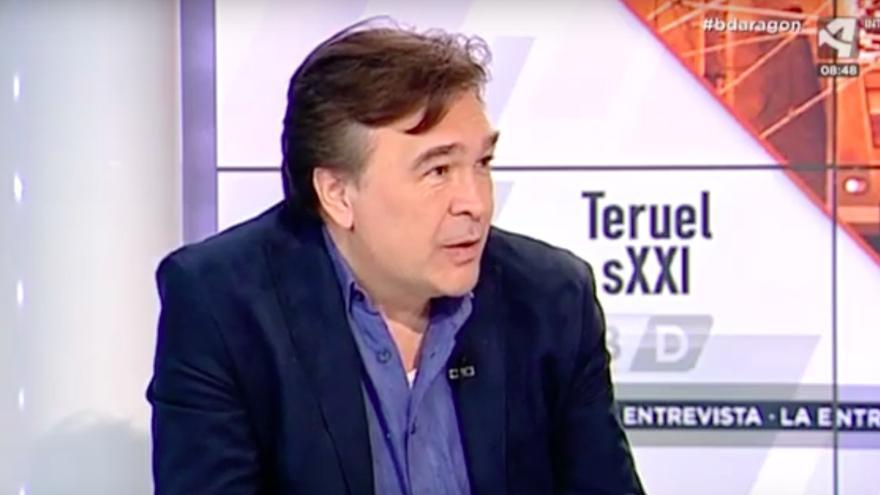 Tomás Guitarte, candidato de Teruel Existe al Congreso de los Diputados.