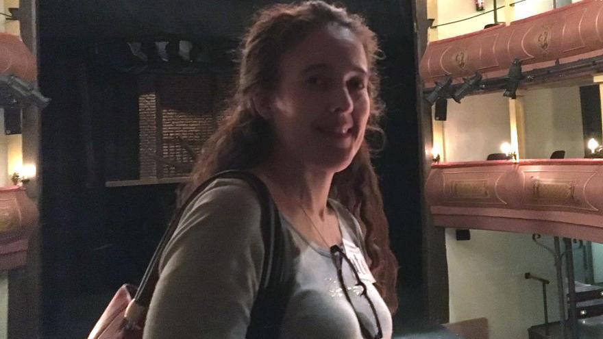 Eva María Romero, la profesora de Marchena que ha denunciado la situación global de los profesores.