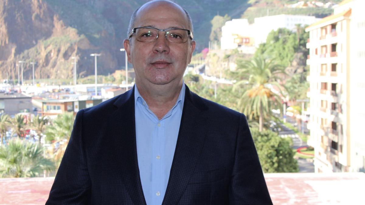 Juan Ramón Felipe, portavoz del grupo de CC en el Cabildo de La Palma.