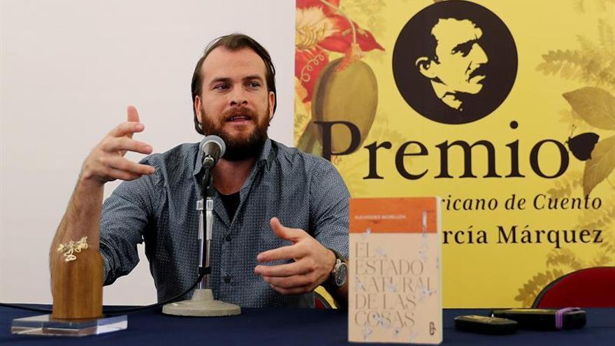 La fantasía da al español Alejandro Morellón el Premio Hispanoamericano de Cuento