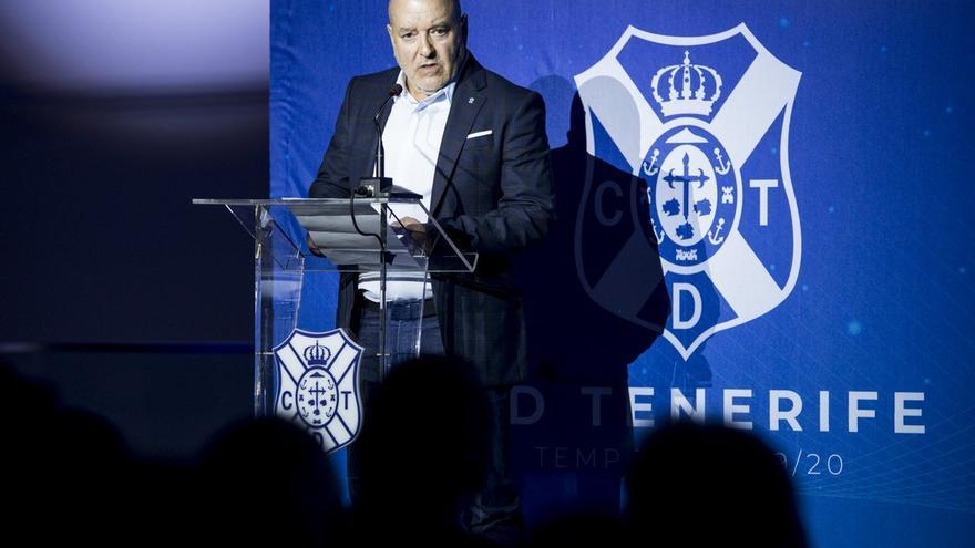 Miguel Concepción durante el acto de presentación de la campaña de abonos