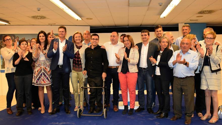 """Rudi (PP) pide la confianza de los aragoneses """"para seguir avanzando"""""""