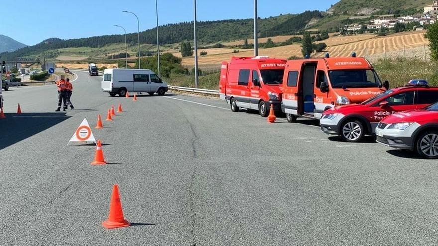 Policía Foral detiene en septiembre a cuatro conductores e investiga a 51 por delitos contra la seguridad vial