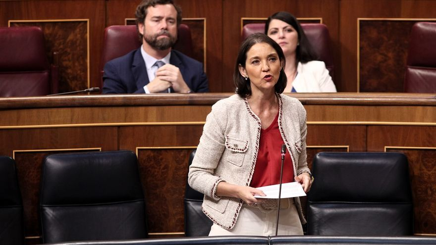 Reyes Maroto, en el Congreso.