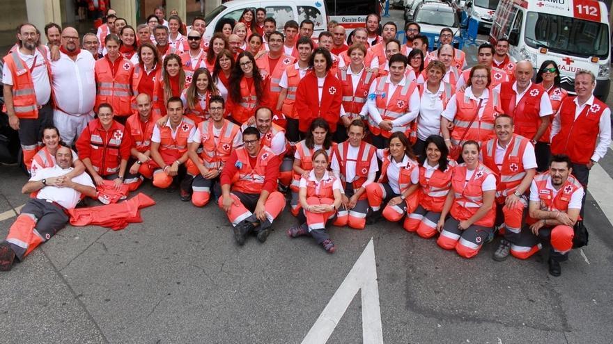 Cruz Roja atiende a más de 700 personas en los Sanfermines 2017