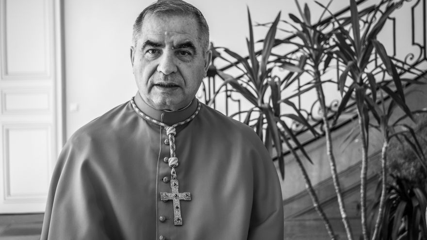 El cardenal Giovanni Angelo Becciu.