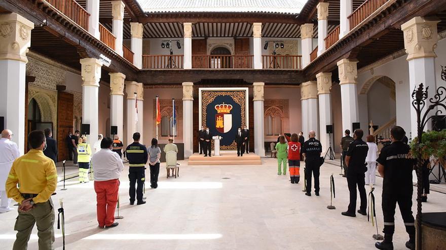 Acto institucional del Día de Castilla-La Mancha 2020