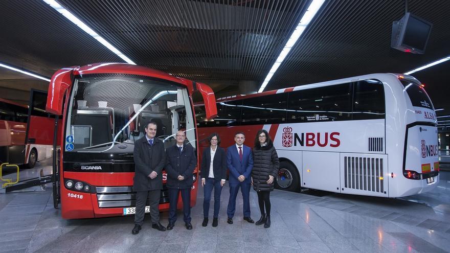 Arranca la nueva concesión de transporte público entre Pamplona y Soria con una apuesta por la movilidad eficiente