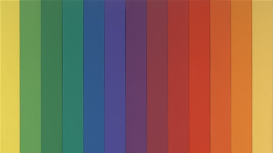 MoMA | The Collection | Ellsworth Kelly. Spectrum IV. 1967