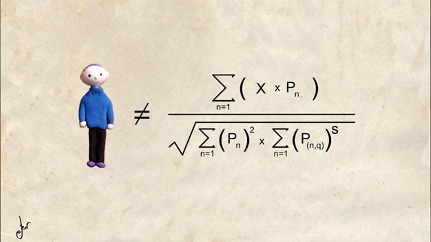 Homo Enconomicus - Ilustración de Germán Ferrero