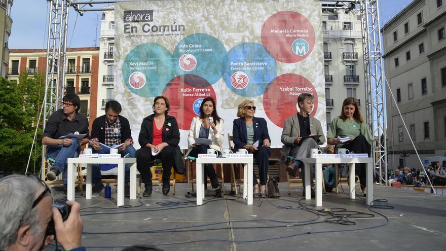 Los participantes del acto en Madrid. Foto: Agustín Millán