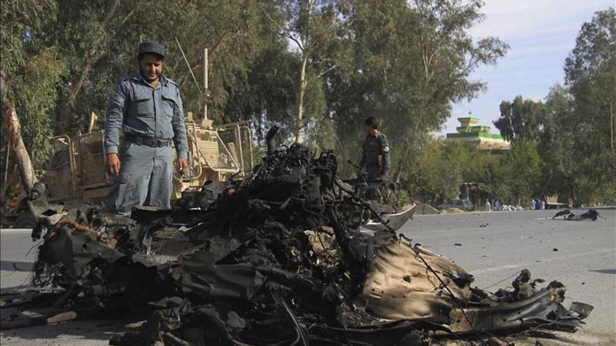Mueren dos guardias en un ataque suicida contra tropas internacionales en Kabul