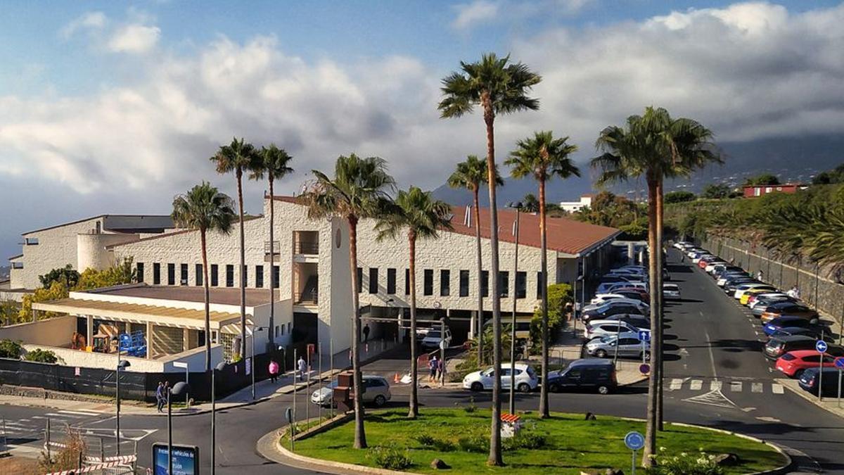 Imagen de archivo del Hospital General de La Palma. Foto: JOSÉ F. AROZENA