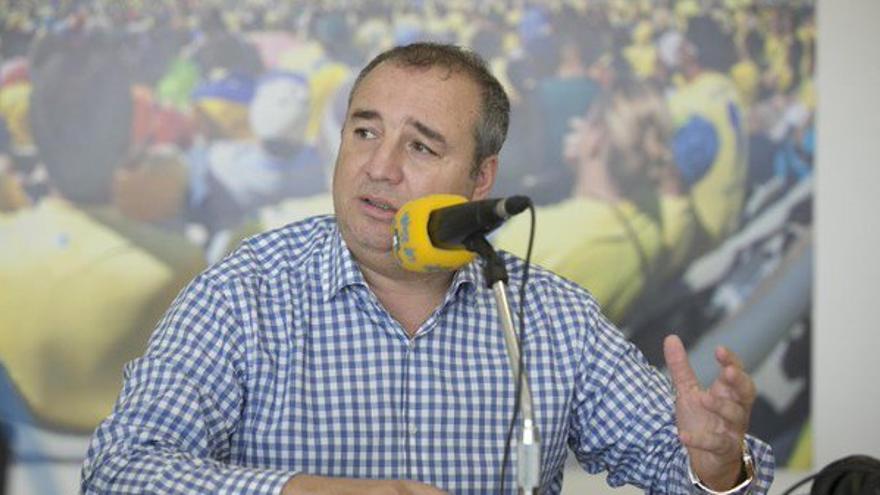 """Miguel Ángel Ramírez: """"La UD Las Palmas apostará por una gestión austera y sin alegrías"""""""