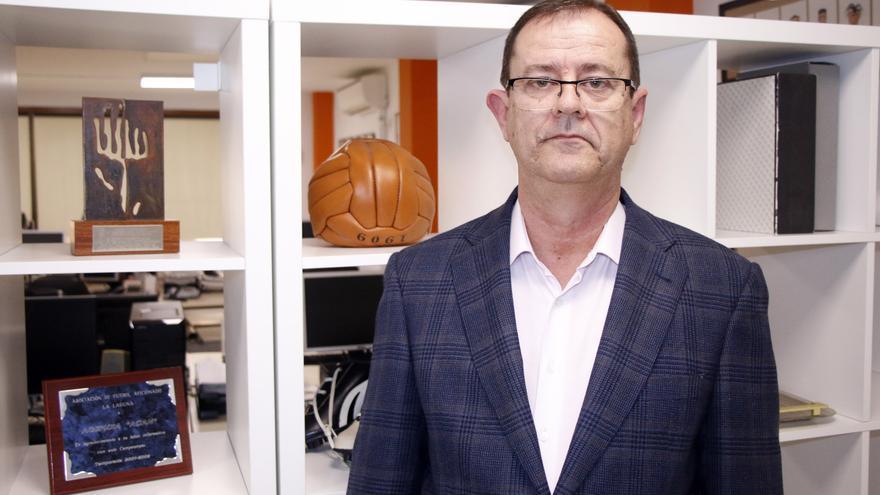 José Antonio Fariña, presidente de la Federación Canaria de Tenis de Mesa