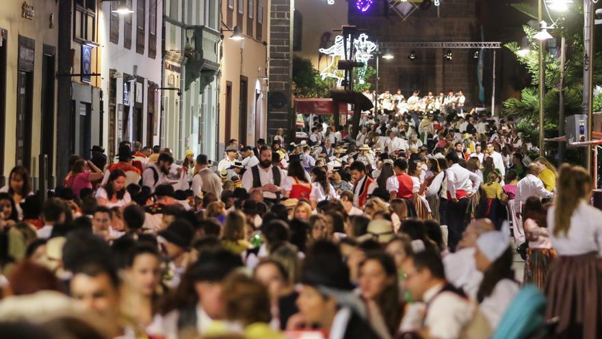Celebración de años anteriores, en la ciudad de Aguere